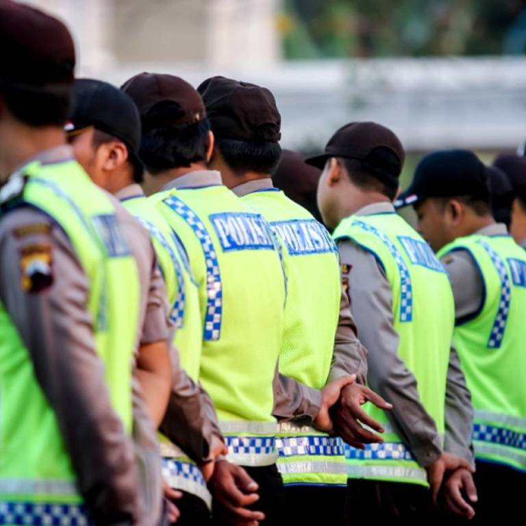 Indonesian police cinop1