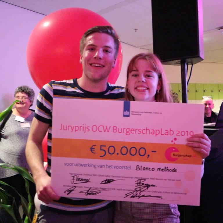 winnaar Burgerschaplabs CINOP